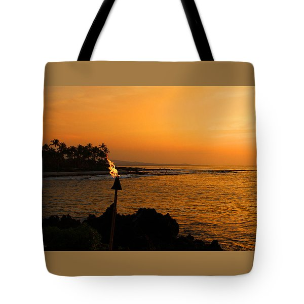 Tote Bag featuring the photograph Colors Of Waikoloa Hawaii by Kerri Ligatich