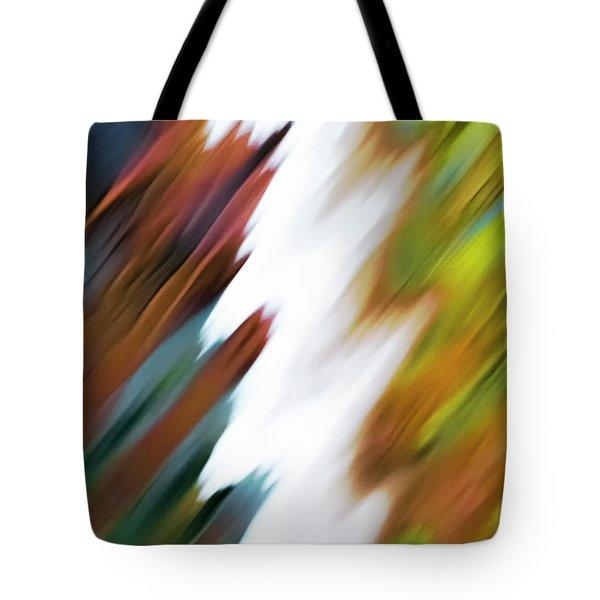 Colors Of Water Tote Bag
