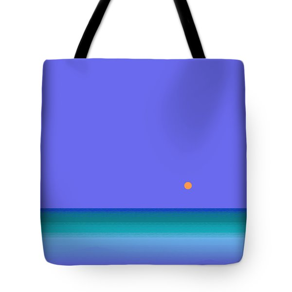 Colors Of Water Tote Bag by Val Arie