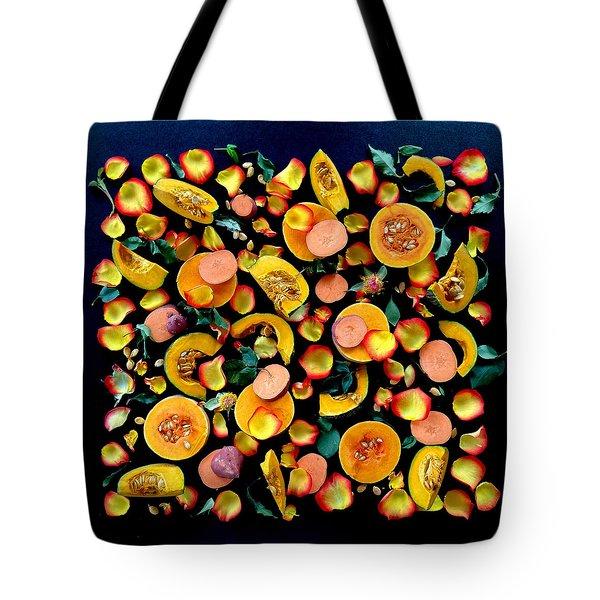 Colors Of Winter Squash Tote Bag
