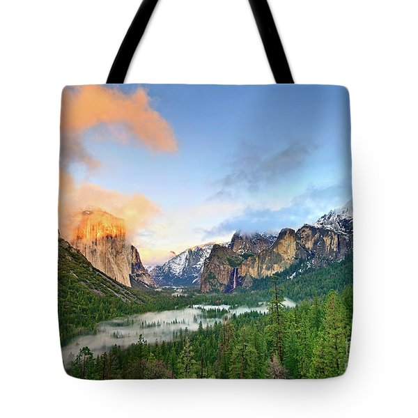 Colors Of Yosemite Tote Bag