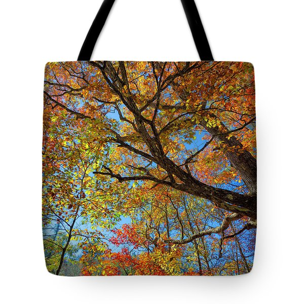 Colors On High Tote Bag by John M Bailey