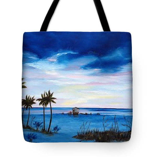 Colors On The Gulf Tote Bag by Lloyd Dobson