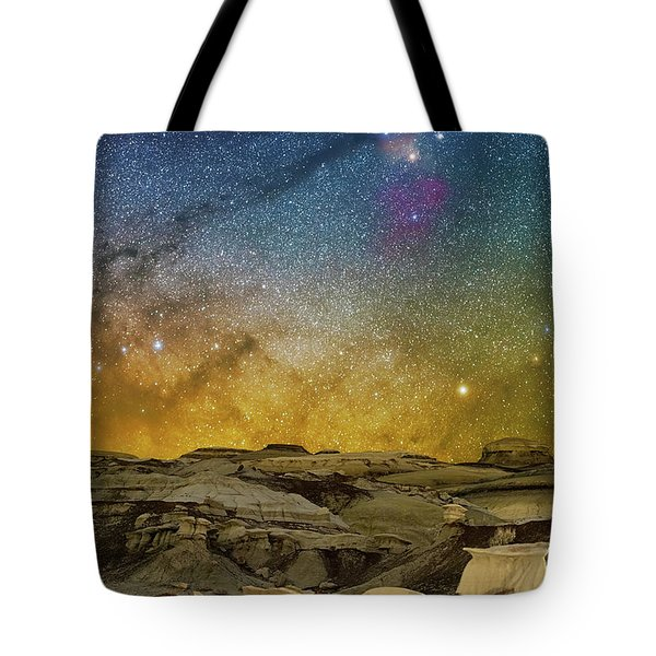 Colors On The Rise Tote Bag