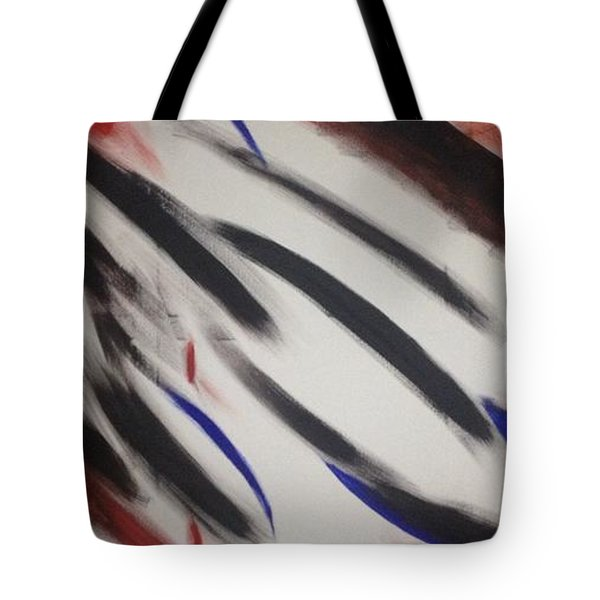 Tote Bag featuring the painting Abstract Colors by Sheila Mcdonald