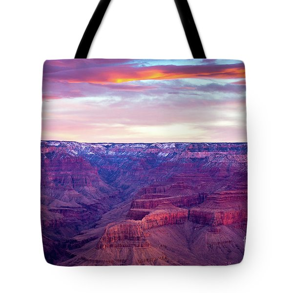 Grand Canyon Sunrise Tote Bag