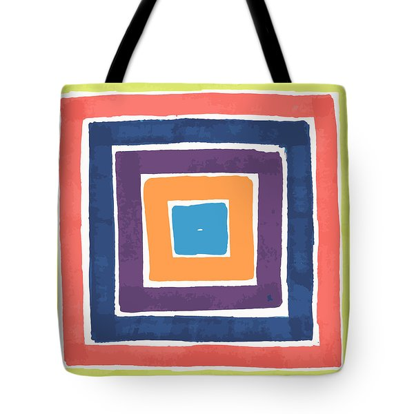 Colory Tile Tote Bag