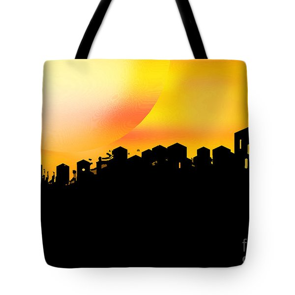 Colossal Ending Tote Bag by Shelley Jones