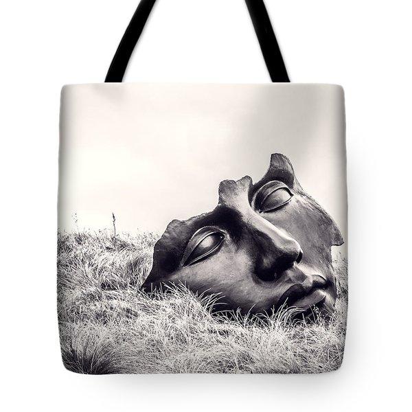 Colossal Mask Tote Bag