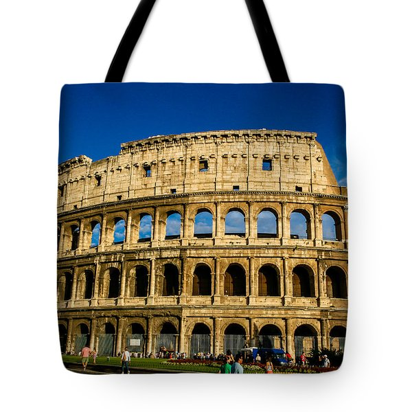 Colosseo Roma Tote Bag by Rainer Kersten