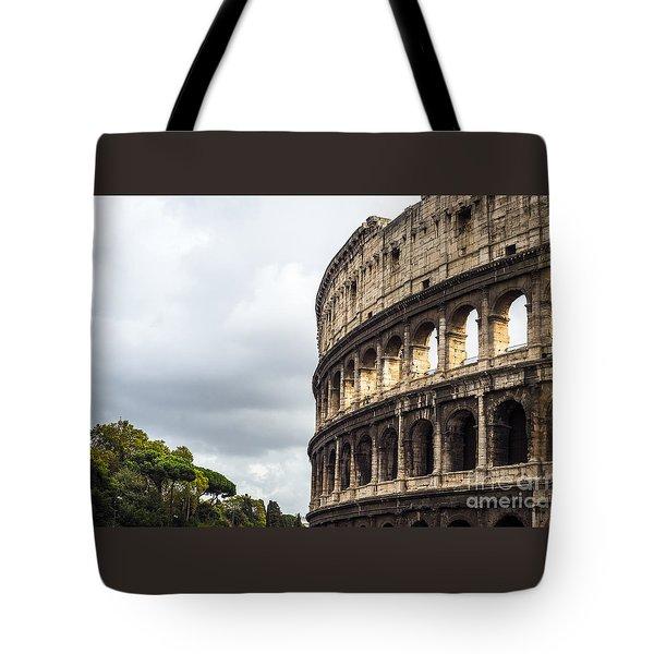 Colosseum Closeup Tote Bag