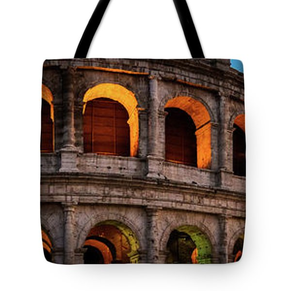 Colosseum In Rome, Italy Tote Bag