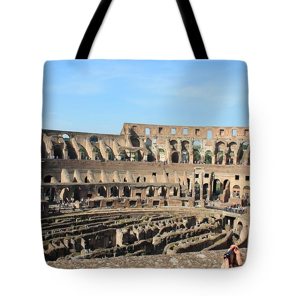 Colosseum Inside Tote Bag
