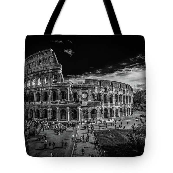 Tote Bag featuring the photograph Colosseum by James Billings