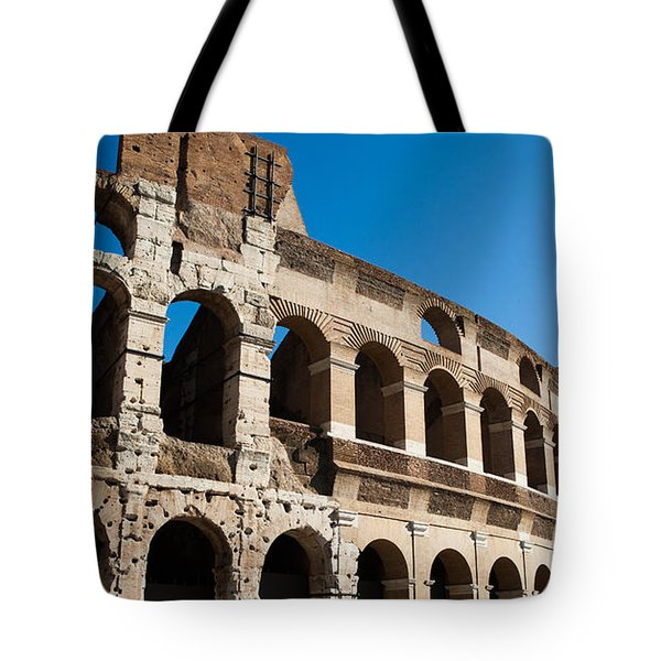 Colosseum - Old And New Tote Bag by Ed Cilley