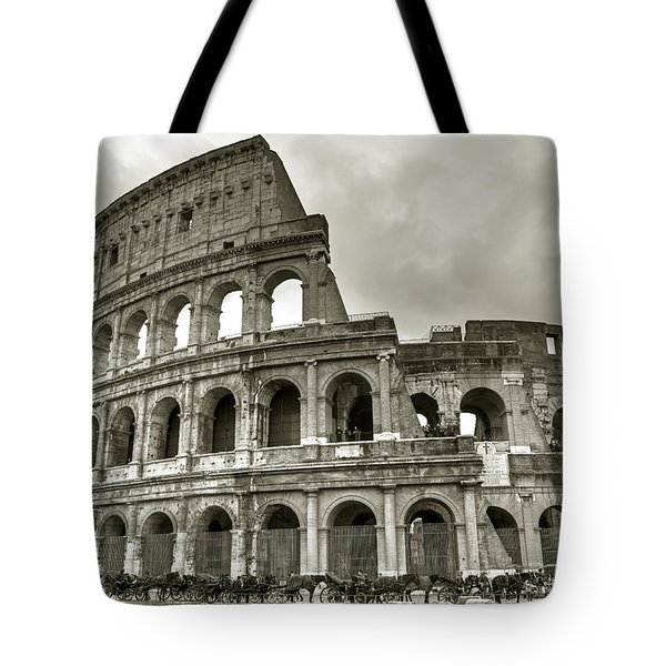 Colosseum  Rome Tote Bag