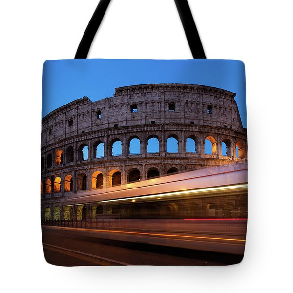 Colosseum Rush Tote Bag
