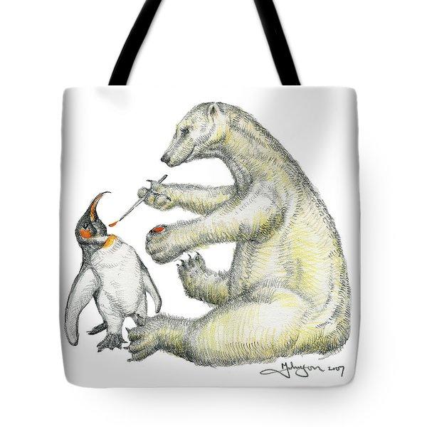 Colour Bear Tote Bag