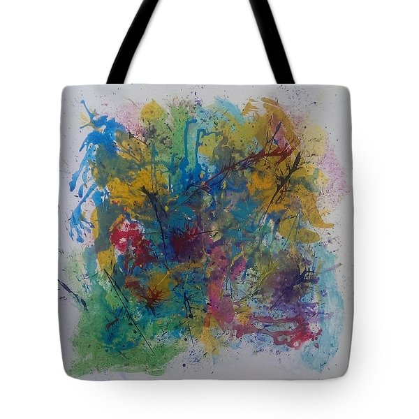 Colour Fusion Tote Bag by Judi Goodwin
