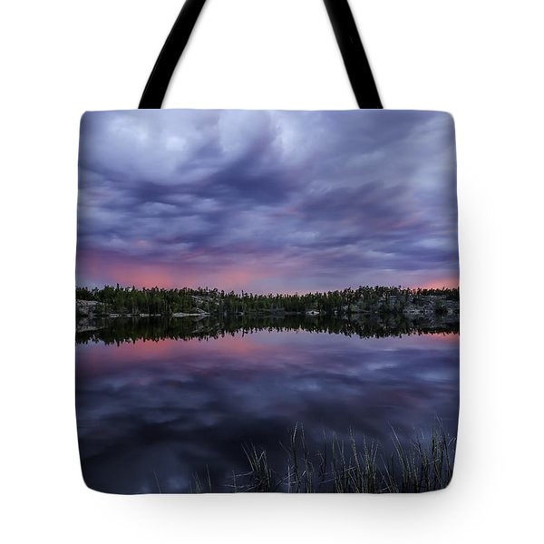 Colour In The Midnight Sky Tote Bag