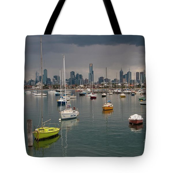 Colour Of Melbourne 2 Tote Bag by Werner Padarin