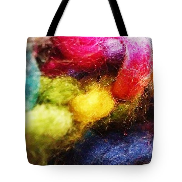 Colour Of Warmth Tote Bag