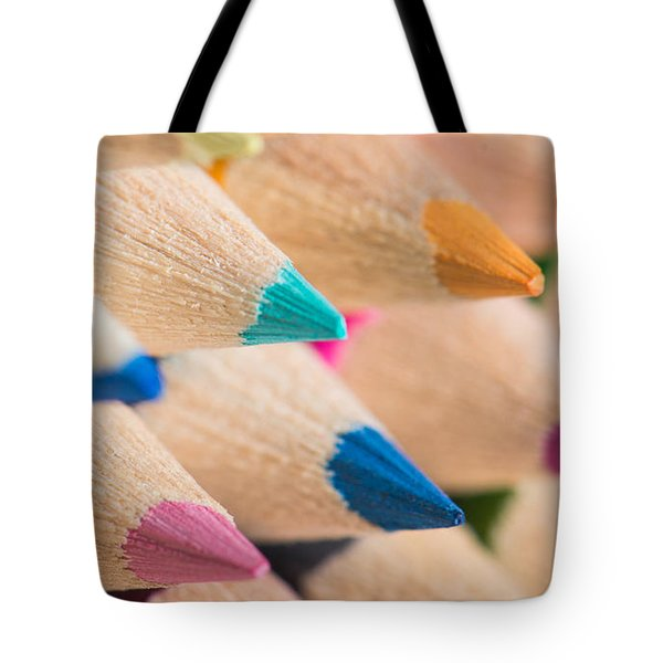 Colour Pencils 3 Tote Bag