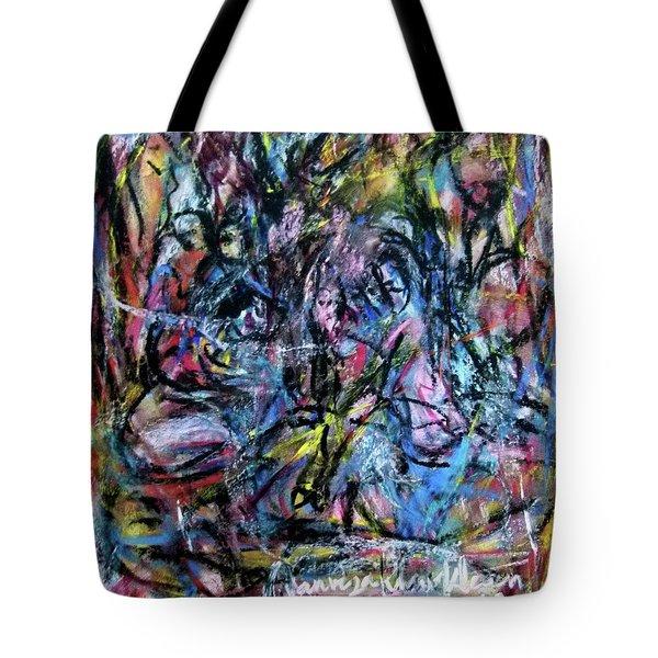 Colour Talking Tote Bag
