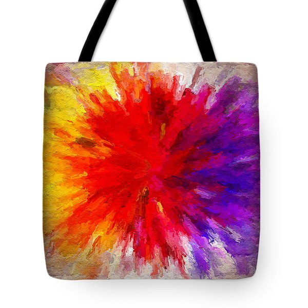 Colour To Lift Your Soul Tote Bag
