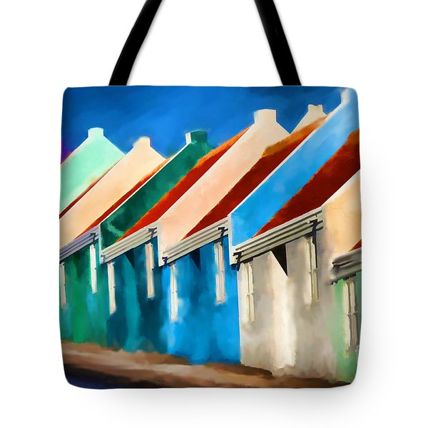 Coloured Tote Bag by Jim  Hatch