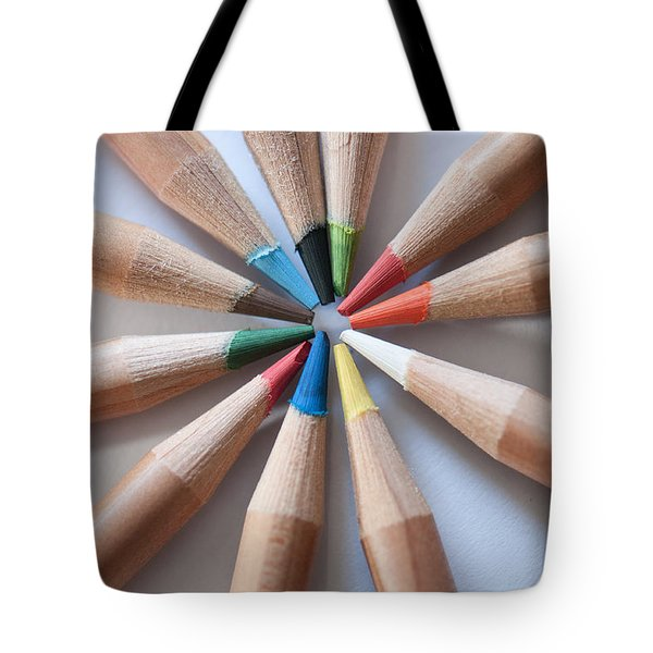Coloured Pencils 2 Tote Bag