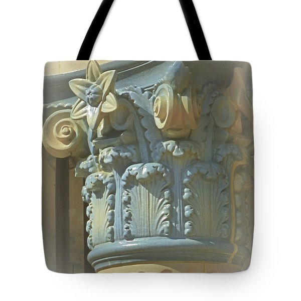 Tote Bag featuring the photograph Coloured With Sand And Sky by Connie Handscomb