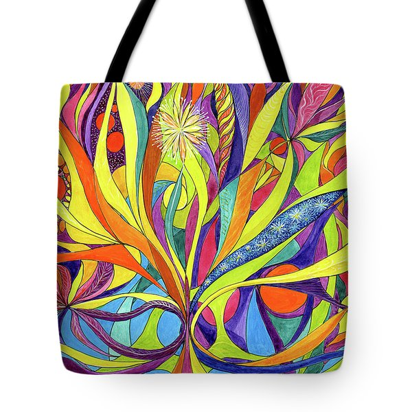 Colourful 2009 Tote Bag by Charles Cater