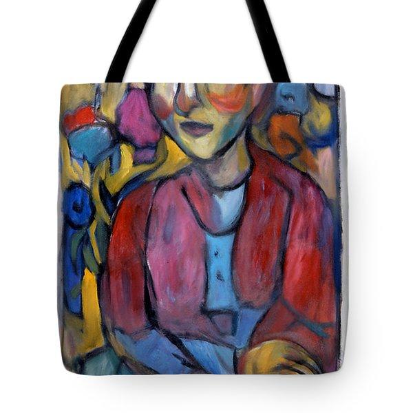 Colourful Contemple Tote Bag
