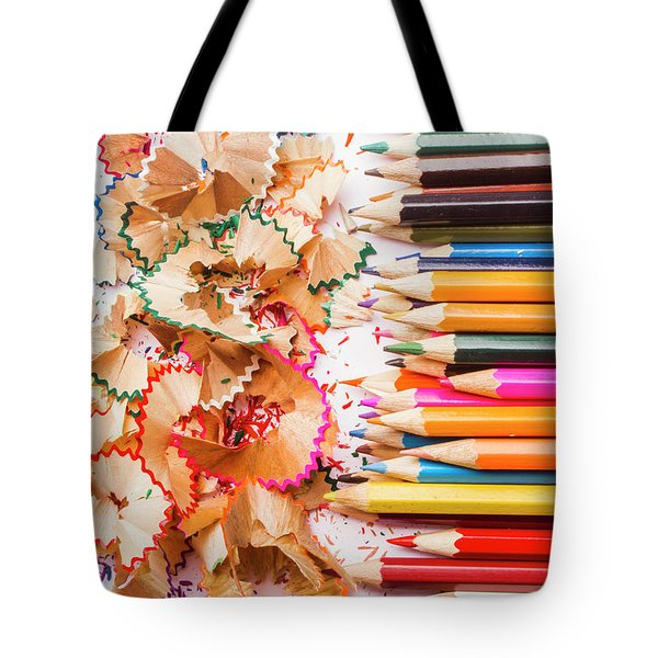 Colourful Leftovers Tote Bag