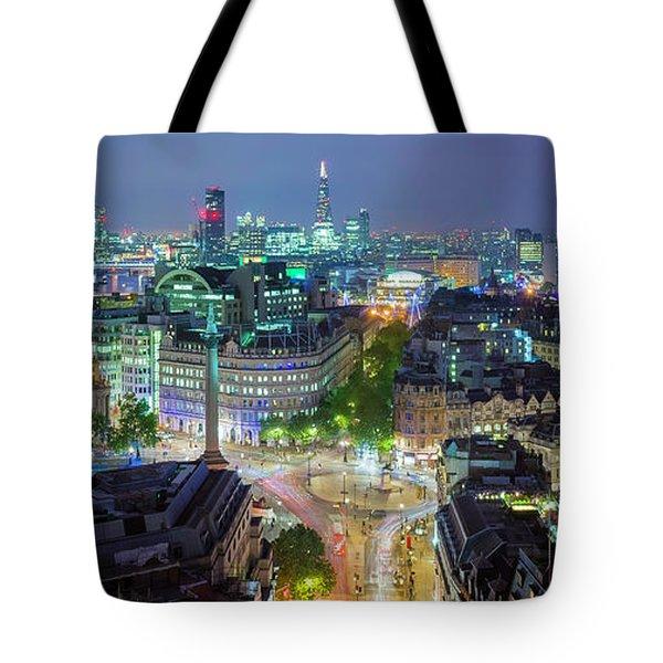 Colourful London Tote Bag