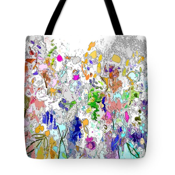 Colourful Meadow I Tote Bag