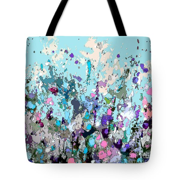 Colourful Meadow IIi Tote Bag