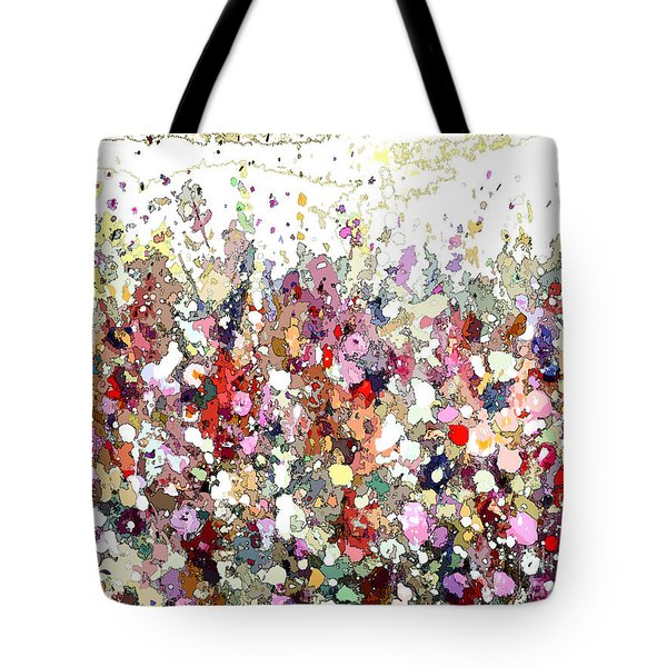 Colourful Meadow Iv Tote Bag