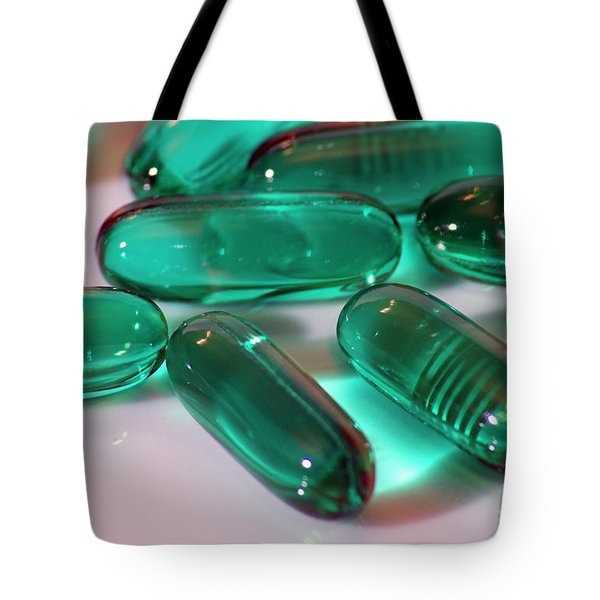 Colourful Medication Tote Bag