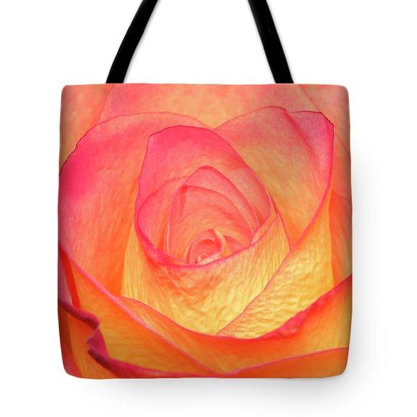 Colourful Rosie Tote Bag by Roy McPeak