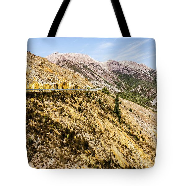 Colourful Stony Highlands Tote Bag