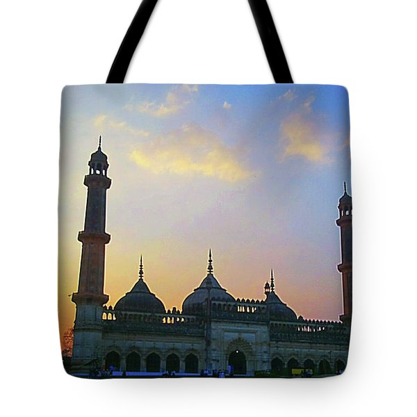 Colourful Sunset At Monument Tote Bag