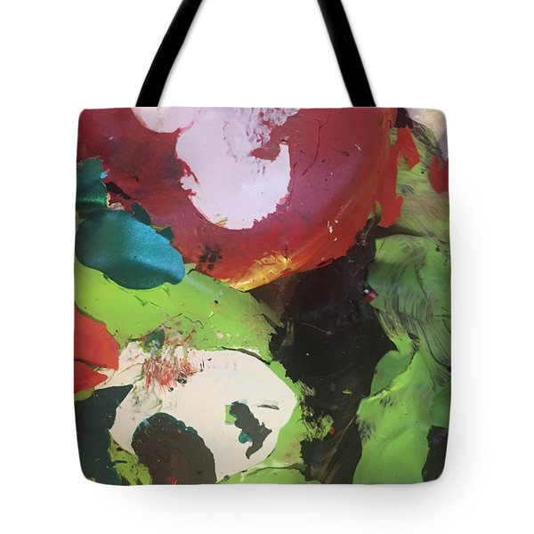 Colourful Wasteland Tote Bag