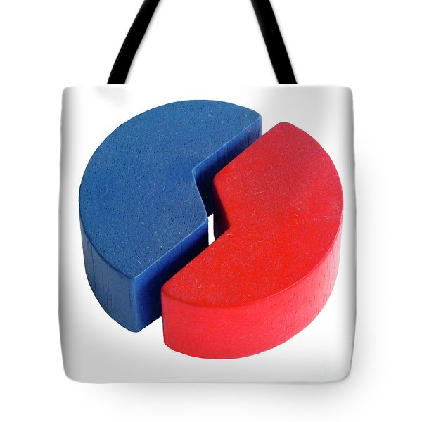 Colourful Wooden Building Blocks Tote Bag