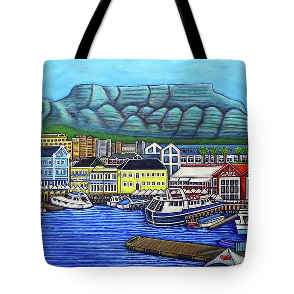 Colours Of Cape Town Tote Bag