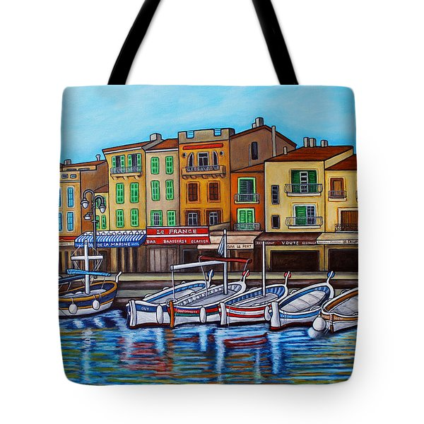Colours Of Cassis Tote Bag