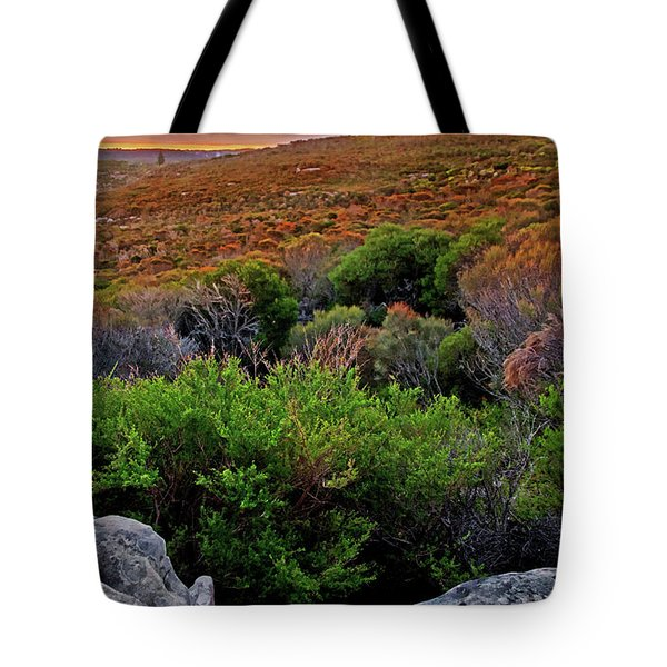 Tote Bag featuring the photograph Colours Of North Head by Miroslava Jurcik