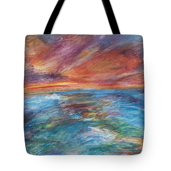 Colours Of The Sea 8 Tote Bag