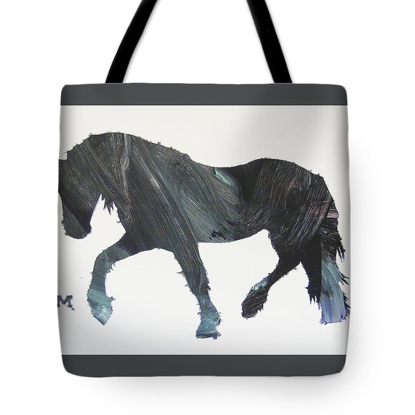 Tote Bag featuring the painting Colton by Candace Shrope
